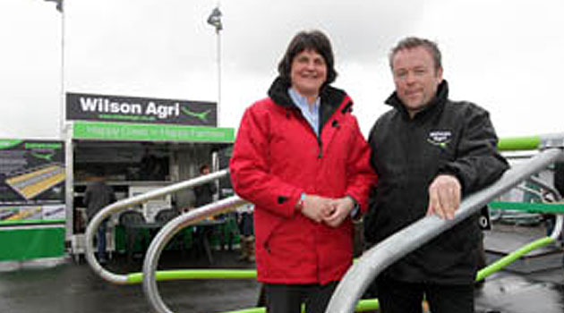 Enterprise Minister welcomes launch of cow comfort product